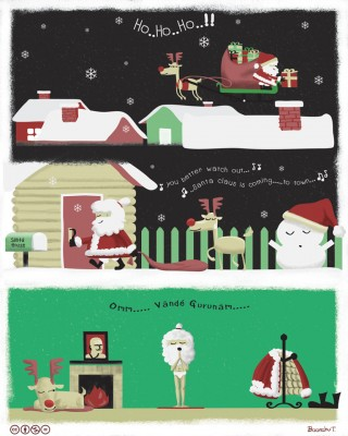 Dedicated Santa by Boonchu